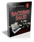 Jeff Dedrick's Backend Sales