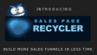 Sales Page Recycler